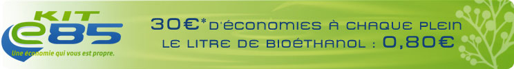 kit ethanol e85 avec le super ethanol faites des conomies d 39 essence. Black Bedroom Furniture Sets. Home Design Ideas